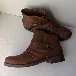 Baretrap Cecelia Brown Boots